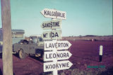 Picture of / about 'Menzies' Western Australia - Crossroads - Menzies, WA in 1969