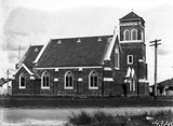 Picture relating to Reid - titled 'Reid Methodist Church, Doonkuna Street.'