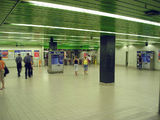 Picture relating to Central - titled 'Central Station - underground area near suburban platforms.'