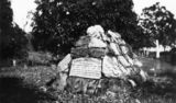 Picture relating to Dunk Island - titled 'Gravestone of Edmund James Banfield'