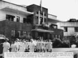 Picture relating to Kingaroy - titled 'Nurses outside the Kingaroy Hospital, Queensland, 1950'