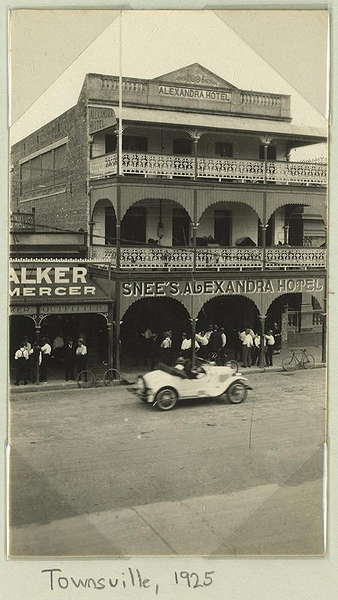 Licensee For The Alexandra Hotel Was Snee In 1925