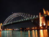 Picture relating to Sydney Harbour - titled 'Sydney Harbour By Night 5'