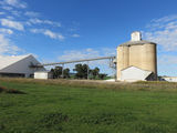 Picture relating to Greenethorpe - titled 'Greenethorpe  Silo and Grain store'