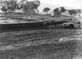 Picture relating to Acton - titled 'Australian Institute of Anatomy with Fordson tractor excavating the foundations, McCoy Circle, Acton.'