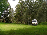 Picture relating to Gunyah Gunyah - titled 'Gunyah Gunyah Hotel Site bush camp'