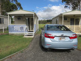 Picture relating to Crows Nest - titled 'Crows Nest Caravan Park Cabins'