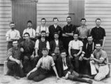 Picture relating to Pittsworth - titled 'Staff members of the Pittsworth Cheese Factory, Queensland, ca. 1910'