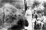 Picture of / about 'Logan River' Queensland - Flanagan Family at Logan River, Queensland, 1911