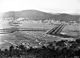 Picture relating to Ainslie - titled 'View from Mt Ainslie towards Black Mountain - Haig Park to right'