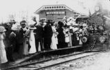 Picture relating to Kilcoy - titled 'Opening of Kilcoy Railway Station, December 1913'