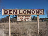 Picture relating to Ben Lomond - titled 'Ben Lomond railway station sign'