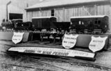 Picture relating to Townsville - titled 'Railway model erected for the Victory Celebrations, Townsville, ca. 1945'