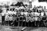Picture relating to Canungra - titled 'Canungra sawmill workers, 1935'