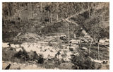 Picture relating to Kyogle - titled 'Kyogle Brisbane Railway construction camp at Border Loop on NSW _Qld border'