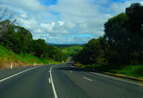Picture of / about 'Princes Highway' New South Wales and Victoria - Princes Highway southbound just north of Tilba Tilba turnoff