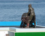 Picture relating to Chichester Range - titled 'Memorial to Fishermen at Fremantle, WA'