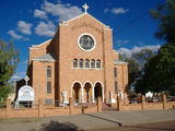 Picture relating to Longreach - titled 'St Brigid's Catholic Church Longreach'