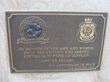 Picture relating to Helidon - titled 'Helidon WW2 memorial plaque'