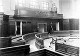 Picture relating to Parliament House - titled 'Old Parliament House under construction - Senate Chamber'