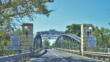 Picture relating to Bundaberg - titled 'Kennedy Bridge- Bundaberg. Steel architecture landscape.'