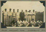 Picture relating to Cunnamulla - titled 'Roger Haritgan's cricket team in Cunnamulla, Queensland, 1939'