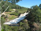 Picture relating to Cheshunt - titled 'Cheshunt - spillway at Lake William Hovell'
