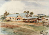 Picture relating to Kilcoy - titled 'Kilcoy District Memorial Hall, 1923'