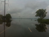 Picture of / about 'Arnhem Highway' the Northern Territory - Arnhem Highway flooded after Low turned Cyclone Carlos