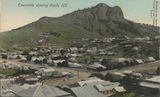 Picture relating to Townsville - titled 'Panoramic view of Townsville showing Castle Hill, ca. 1905'