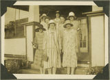 Picture relating to Yeppoon - titled 'Group of women with fashionable summer clothes from 1926'