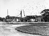 Picture relating to Acton - titled 'AustralianInstitute of Anatomy under construction. . McCoy Circle, Acton.'
