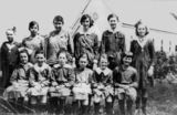 Picture relating to Stanthorpe - titled 'Students at St. Joseph's Convent School, Stanthorpe, 1919'