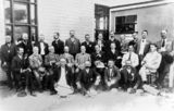 Picture relating to Stanthorpe - titled 'Stanthorpe Agricultural Society Committee and visitors, 1914'