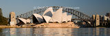 Picture relating to Sydney - titled 'Sydney Opera House & Harbour bridge. Art photo. Sydney'