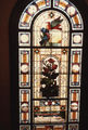 Picture relating to Milton - titled 'Details of one of the stained glass windows at Moorlands, Brisbane, 1985'