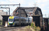 Picture of / about 'Footscray' Victoria - Railway Bridge at Footscray