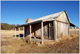 Picture relating to Brayshaws Hut - titled 'Brayshaws Hut in the Namadgi National Park - A.C.T.'