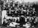 Picture relating to Maleny - titled 'Rugby League team from Maleny, ca. 1924'