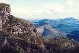 Picture relating to Chichester Range - titled 'The Stirlings from Bluff Knoll'