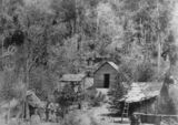 Picture relating to Mount Biggenden - titled 'Miners on Mount Biggenden, ca. 1890'