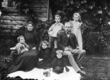 Picture relating to Rosewood - titled 'Portrait of a family at Rosewood, Queensland, ca.1896'