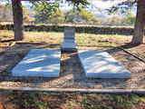 Picture relating to Tharwa - titled 'William and Nina Farrer Graves near Tharwa, ACT'