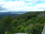 Picture relating to Morton National Park - titled 'View from Boyd's Lookout south toward Pidgeon House Mountain'