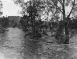 Picture relating to Rannes - titled 'Floodwaters at Rannes, 1949'