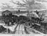 Picture of / about 'Stanthorpe' Queensland - Opening of Stanthorpe Railway Station, Queensland, 1881