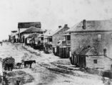 Picture of / about 'Brisbane' Queensland - Early view of Queen Street, Brisbane, ca. 1859