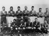 Picture relating to Emerald - titled 'Emerald Rugby League Football Club, 1936'