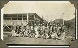 Picture relating to Mount Isa - titled 'Members of the Mount Isa Bowling Club, ca. 1936'