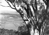 Picture relating to Ainslie - titled 'Old Parliament House from Mt Ainslie with East and West Blocks'